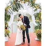 DearHouse-6pcs-Artificial-Sunflowers-Bouquet-Wedding-Flower-Bouquet-Sunflower-Yellow-Sunflower-Silk-Flower-Arrangement-for-Home-Kitchen-Floor-Garden-Wedding-Decor