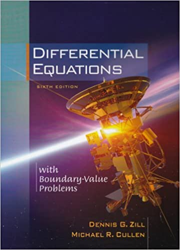 Differential Equations With Boundary Value Problems With Cd Rom And Ilrn Tutorial Zill Dennis G Cullen Michael R 9780534418878 Amazon Com Books