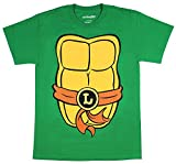 mighty fine clothing - Mighty Fine Teenage Mutant Ninja Turtles Adult Costume T-Shirt (Leo Brown, X-Small)