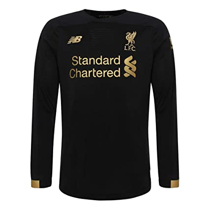 ebbda152 Amazon.com : Liverpool FC Home Kit 2019/2020 Black Long Sleeve ...