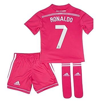 81b3621a8 2014-15 Real Madrid Away Mini Kit (Ronaldo 7)