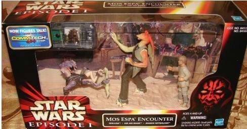 (Japan Import Star Wars Episode 1 cinema scene Mos Espa Encounter)