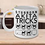 Stubborn Akita Tricks - Awesome Dog Fetch Mug - Best Dog Trainer Cup Ever - Funny Coffee Akita Mug - Perfect Idea Gift, St Patrick's Day, Christmas, Xmas, Birthday Gifts, Rude Sarcastic Mugs Memes Cup 6