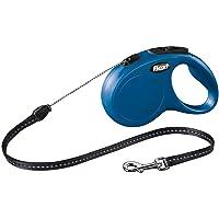 Flexi Classic İpli Medium 8 Mt Mavi Otomatik Köpek Gezdirme Tasması