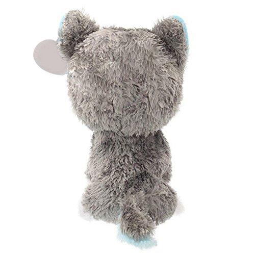 1pcs 18cm Hot Sale Beanie Boos Big Eyes Husky Dog Plush Toy Doll Stuffed Animal Cute Plush Toy Kids Toy