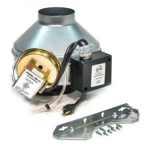DBF4XL Metal Dryer Booster Exhaust Fan w/ FG4XL (Fantech Booster Fans)