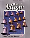 World of Music 5 Teacher Edition Silver Burdett & Ginn (Spiral-Bound 1990 Printing, Second Edition)