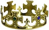 #9: Forum Novelties Gold Plastic Prince Crown