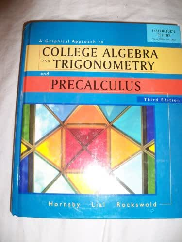 A Graphical Approach to Collage Algebra and Trigonometry (t)