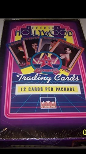 Debbie Reynolds (1) Box Hollywood Walk of Fame 1992 Trading Cards Packs Non-sport Michael Jackson Dick Clark from Collect