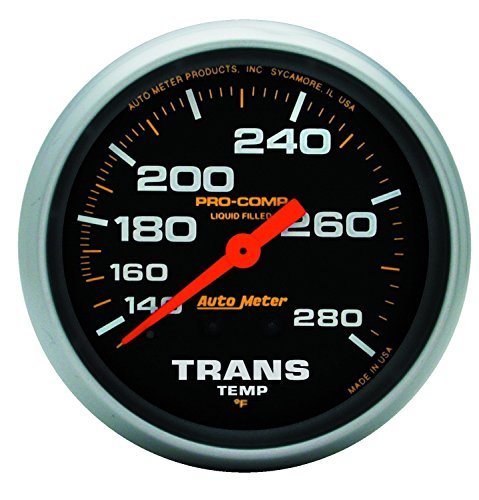 (Auto Meter 5451 Pro-Comp Liquid-Filled Mechanical Transmission Temp Gauge)