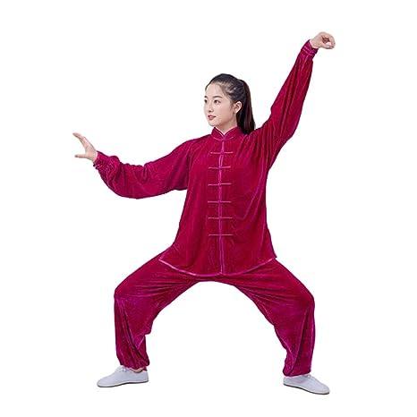 Uniforme de Tai Chi Traje de Kung Fu Conjunto para Qi Gong ...