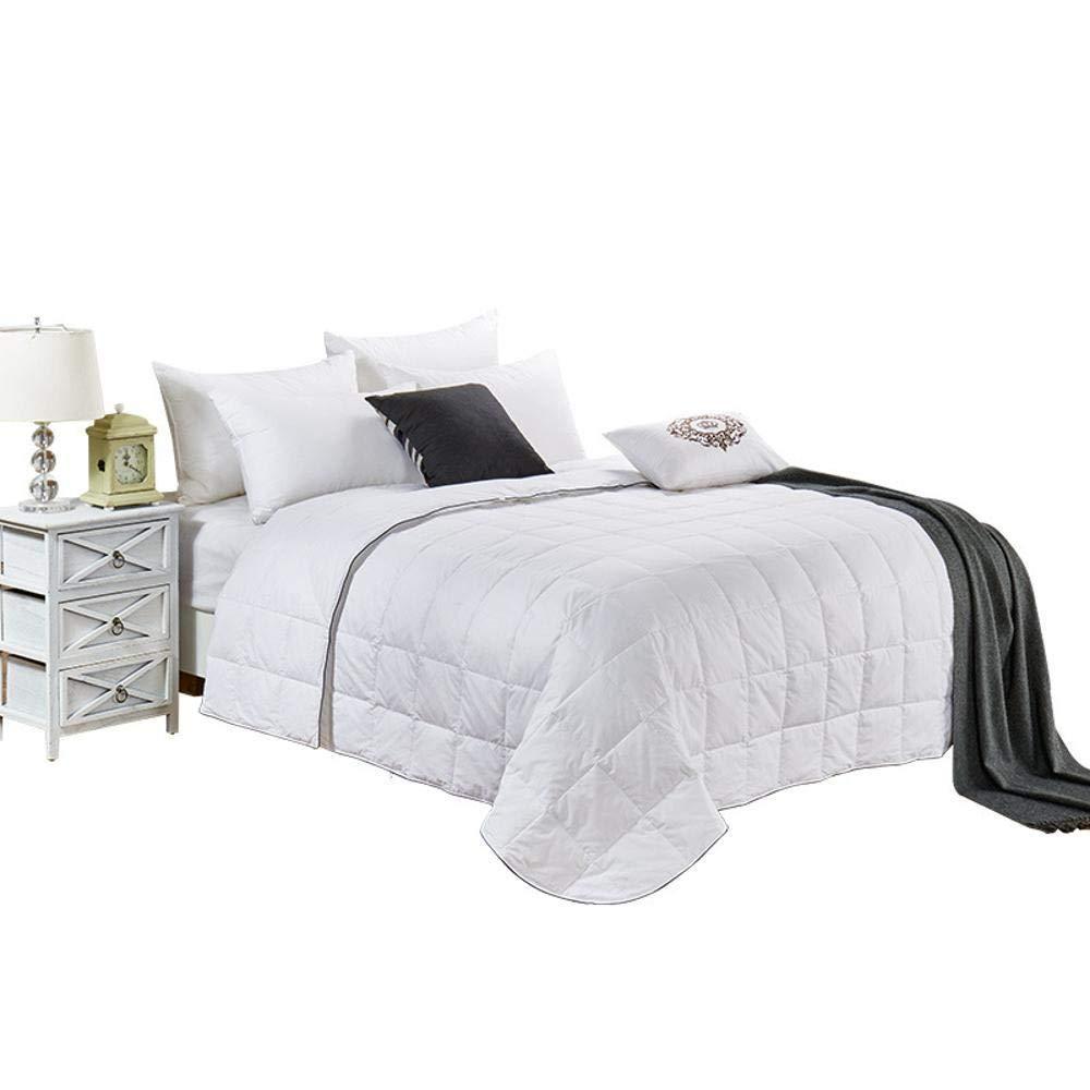 Littlefairy daunendecke,Feder Bettdecken weißen Entendaunen Baumwolle Einzelne verdoppeln Baumwolle Klimaanlage Quilt