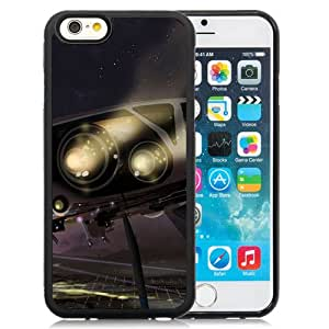 Fashionable Designed Cover Case For iPhone 6 4.7 Inch TPU With Spaceship Fantasy Mobile Wallpaper Phone Case