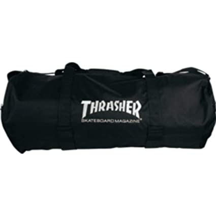 f0be3b5b20c Image Unavailable. Image not available for. Color  Thrasher Magazine Logo  Duffel Bag ...