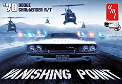 #942 AMT '70 Dodge Challenger R/T, Vanishing POint 1/25 Scale Plastic Model Kit, Needs Assembly from AMT