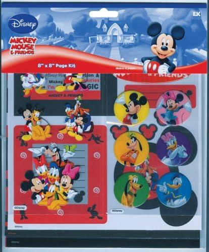 Disney 8-by-8 Mickey Page Kit