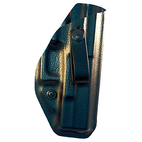 (GREENFORCE TACTICAL Holster for Glock 19/23, Appendix Carry, Inside The Waistband (AIWB) Holster, Right Hand Draw, Black)