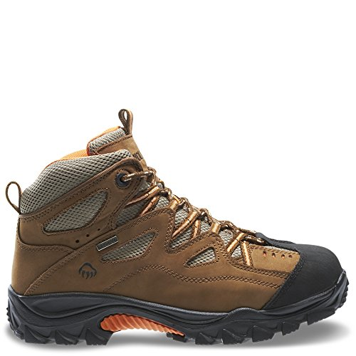 Wolverine Men's Durant Waterproof Safety Toe Shoe,Brown,11 XW US
