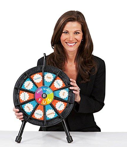Tabletop Prize Wheel 10 Slots (14 Inch Diameter) by PrizeWheelsRFun