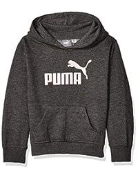 PUMA Girls Fleece No. 1 Logo Hoodie Hooded Sweatshirt