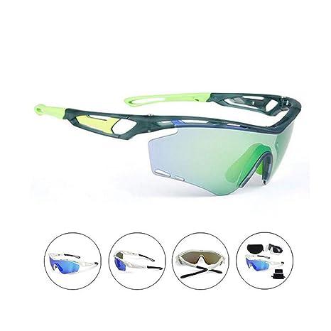 Subobo Gafas de Ciclismo Gafas de Sol Ciclistas para Hombres ...