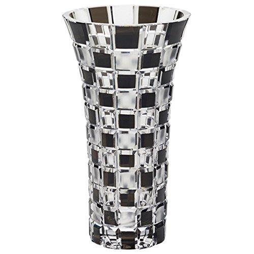 NARUMI グラスワークス アーバン 花瓶(黒) 20cm GW6052-232BK B00SM7GX8G
