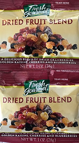 Dried Fruit Blend Snack Packages, 12 Packs, 1 ounce each