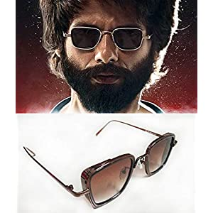 Dervin Square Metal Body Kabir Singh Sunglass for Men & Boy