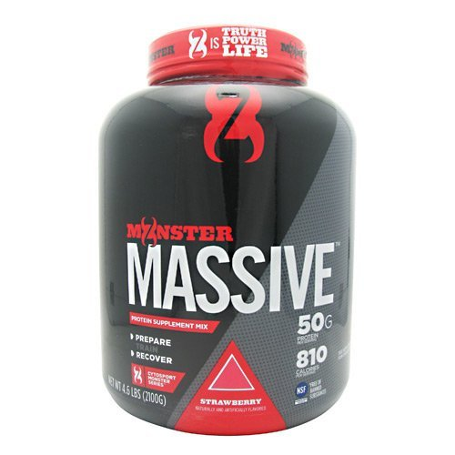CytoSport Monster Massive - Strawberry - 4.6 LBS (2100G)
