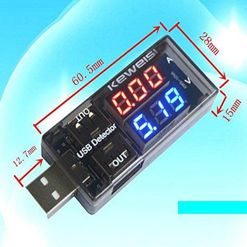 USB Current Charger 3 V DC-9 V, Battery Voltage Tester (Multicolour) Price & Reviews
