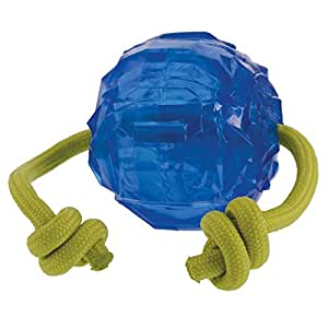HERO ChillTime Soft Rubber Frozen Tug & Toss Ball, Large Dog Toy