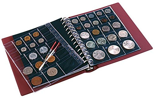 PENNY Münzenalbum [Lindner 1103MY], Farbe: weinrot
