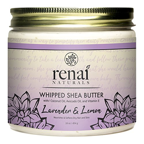 Lavender Lemon Whipped Shea Butter 16 oz