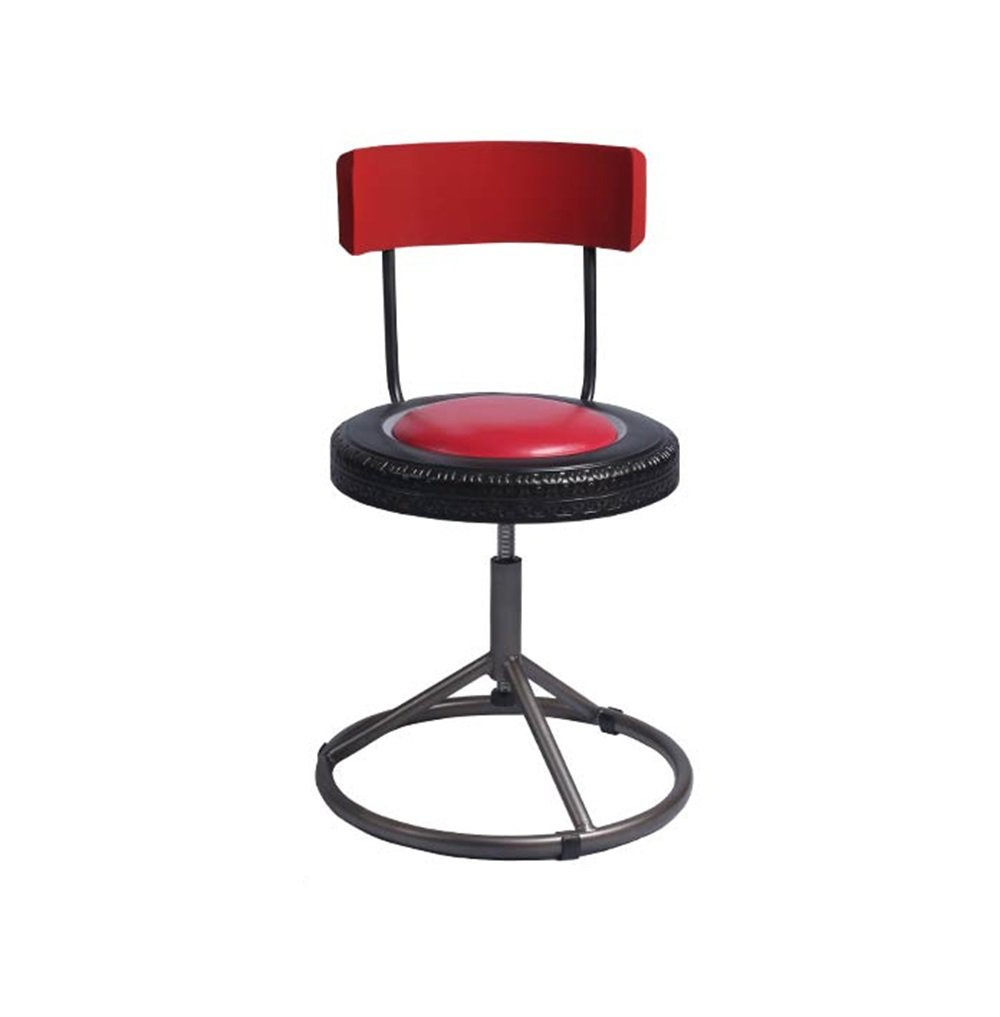Amazon.com: ZRXian-Barstools Fashion American Retro Bar Chairs ...