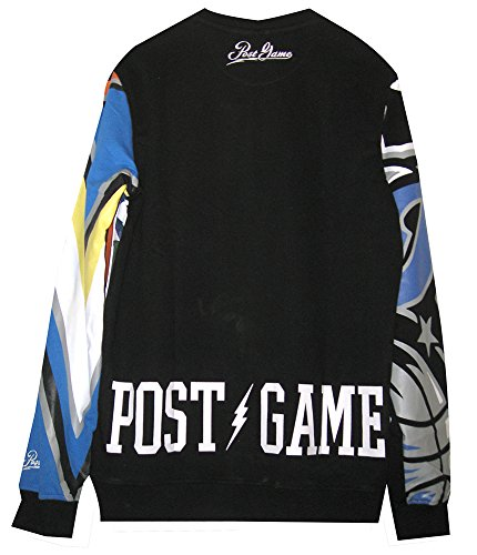 Post Game Men's Florida State Crewneck Top, Black, XX-Large