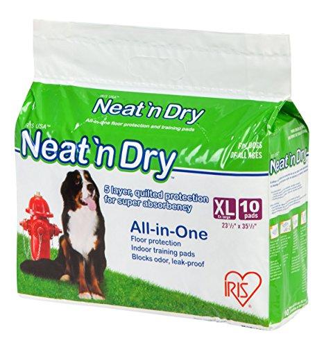 IRIS Neat 'n Dry Premium Training Pads, Extra Large, 23.5