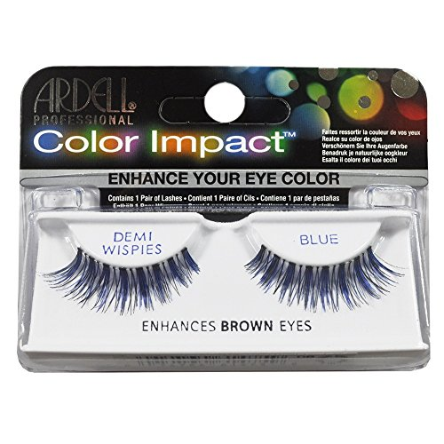 Ardell Color Impact Lashes, Demi Wispies Blue