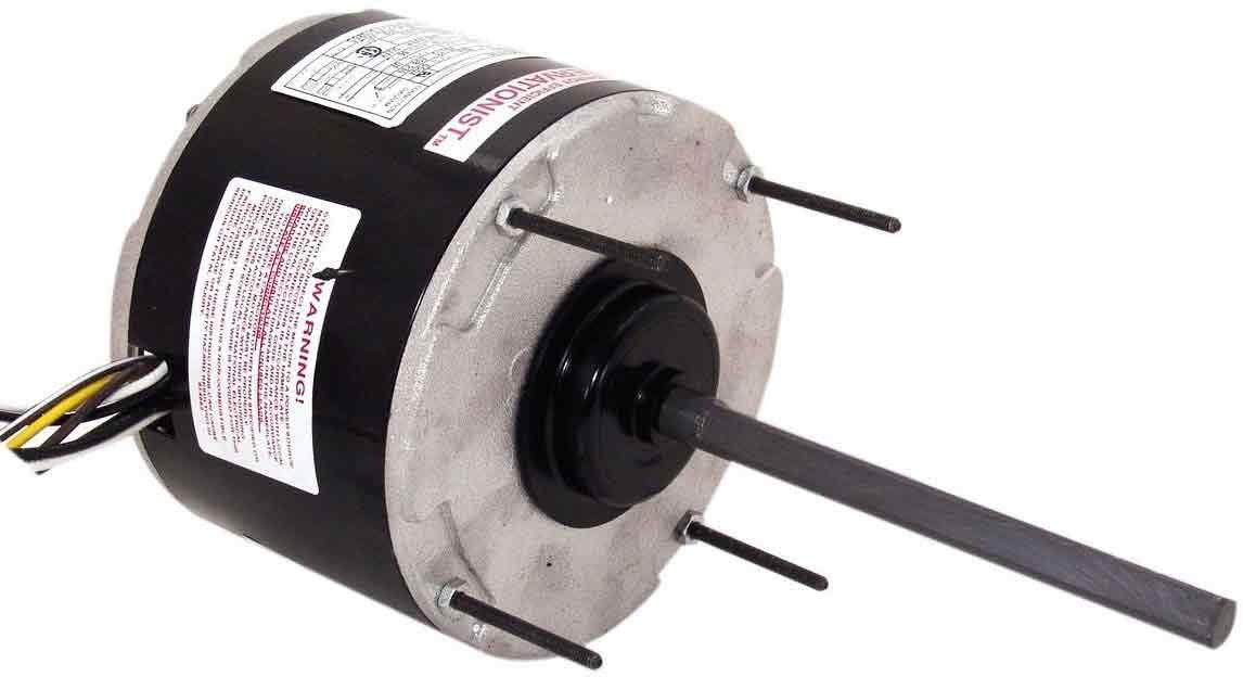 AO Smith FS1018 5.6-Inch Frame Diameter 1/6 HP 825 RPM 208-230-Volt 0.9-Amp Sleeve Bearing Condenser by AO Smith B0092LJTJQ