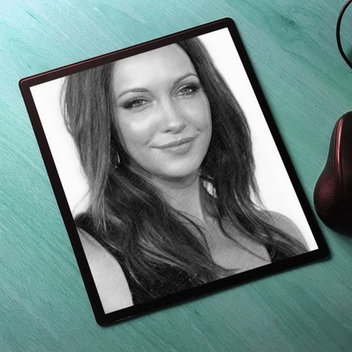 Seasons Katie Cassidy - Original Art Mouse Mat #js001