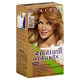 natural instincts hair color 6 - Clairol Natural Instincts, 6 / 13 Suede Light Brown, Semi-Permanent Hair Color, 1 Kit