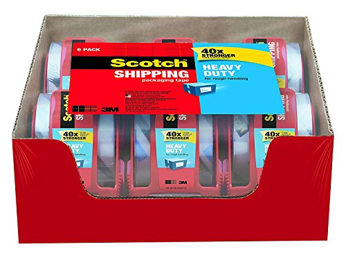 6 pack scotch packaging tape - 7