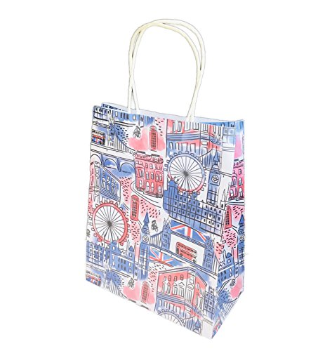 Destination City Themed Novelty Party Gifting Bag 10 x 8 x 4 (London)