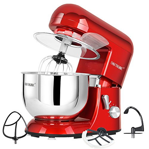 LIGHTENING DEAL! TOP RATED CHEFTRONIC STAND MIXER NOW ONLY $107!