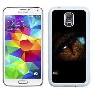 Unique Designed Cover Case For Samsung Galaxy S5 I9600 G900a G900v G900p G900t G900w With Ah Eye Dragon Hobbit The Battle Five Armies Art Dark (2) Phone Case Kimberly Kurzendoerfer