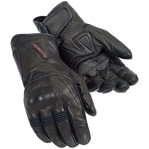 Tourmaster Dri-Perf Gel Gloves LARGE BLACK