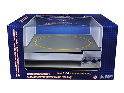 Car Lift Operated Battery - Other SB1004 Battery Operated Car Lift For 1/24 Scale Cars Goes Up And Down Rotates Fits 3 Cars