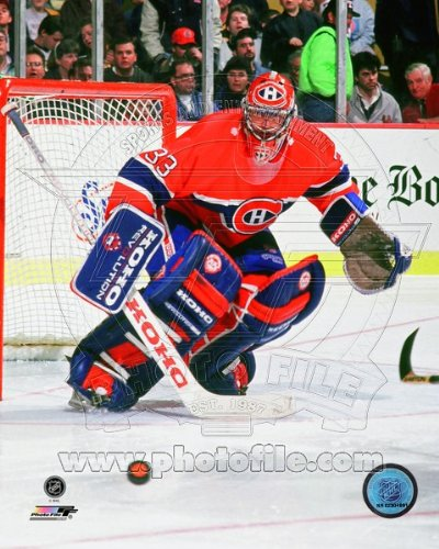 Patrick Roy Montreal Canadiens NHL Action Photo 8x10 #33