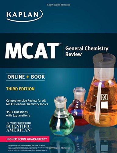 MCAT General Chemistry Review: Online + Book (Kaplan Test Prep)