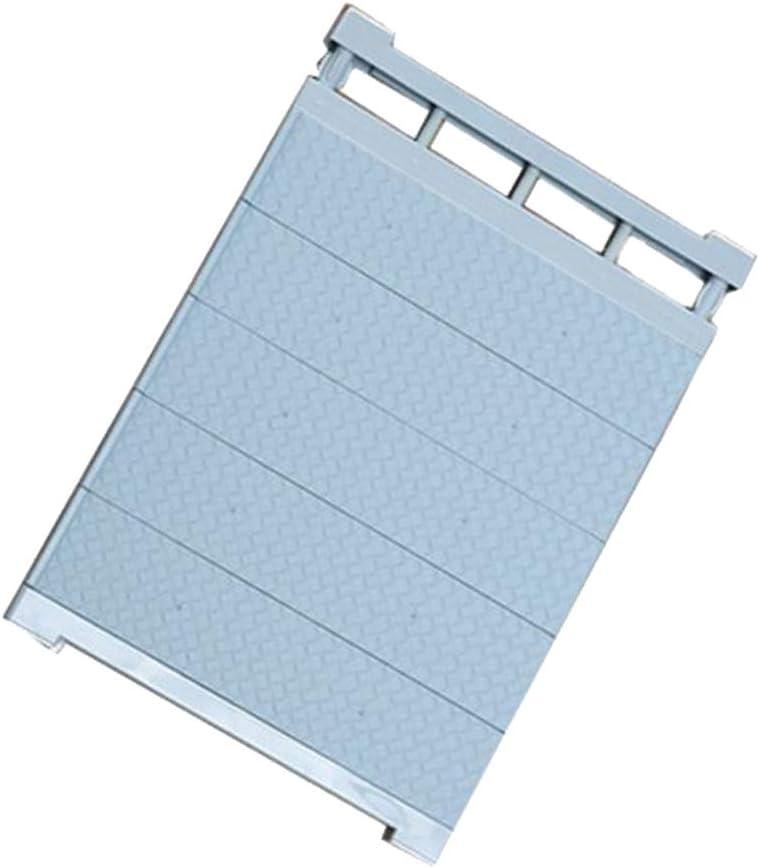 Blau 30-40 cm Fenteer Teleskopregal Schrank Einstellbare Rack verstellbar Lagerregal